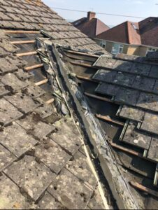 Attic venting and roof repairs with roofing company Weymouth